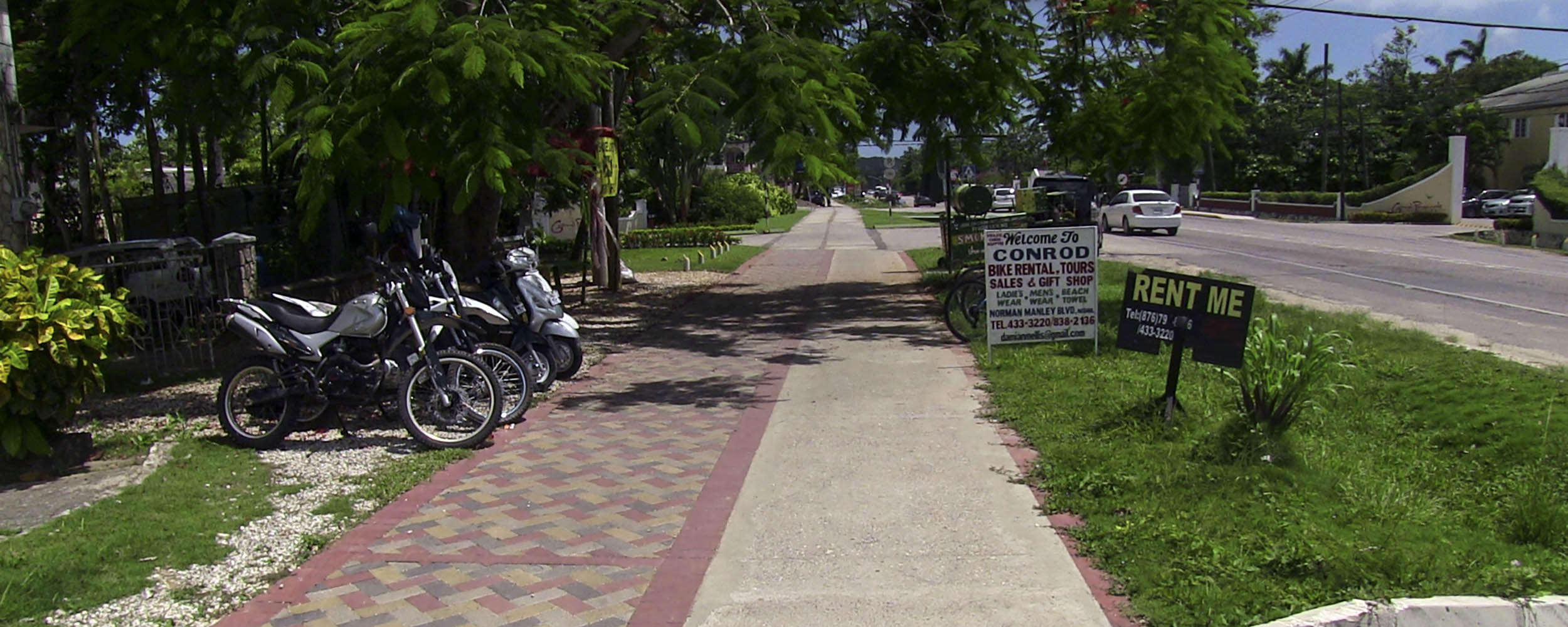 Conrod Bike Rental Tours - Norman Manley Boulevard - Negril Jamaica